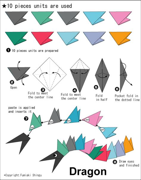 directions for origami origami a snail easy origami