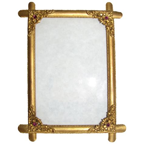beaded picture frames lovely antique brass table top photograph frame beaded
