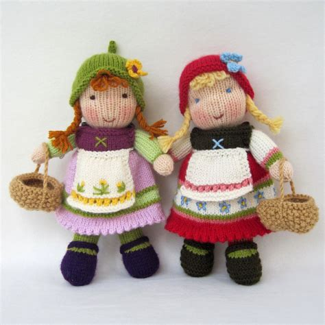 how to make a knitting doll knitted dolls on darts knitting patterns and