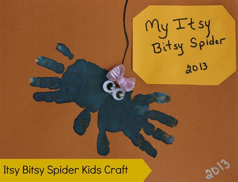 spider crafts for itsy bitsy spider craft