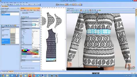 textile design software pattern cutting software top design 2d pattern