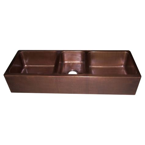 3 bowl kitchen sinks copper kitchen sink bowl copper sink copper basin