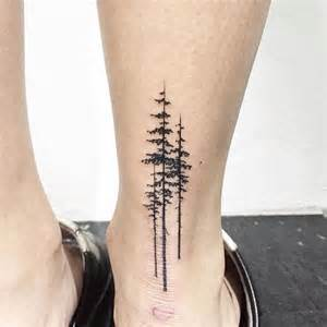 3 foot black tree pine tree ink pine tree