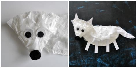 arctic crafts for i crafty things paper plate arctic fox craft for