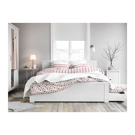 malm bed frame with box brusali bed frame with 2 storage boxes white lur 246 y 140x200