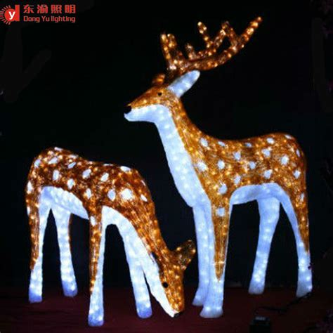 lighted reindeer decorations outdoor reindeer decorations lighted naura 28 images