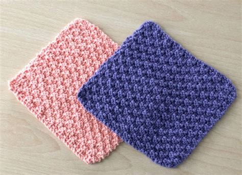 useful things to knit knit and purl dishcloths allfreeknitting