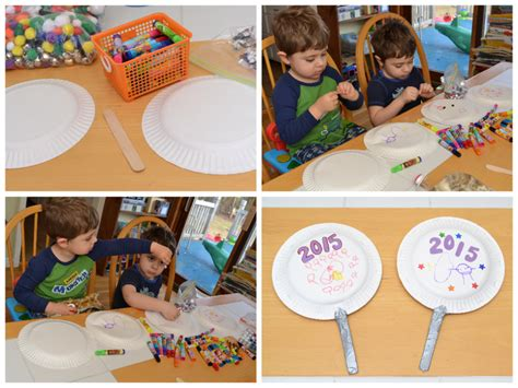 happy new year crafts for 5 easy new years crafts for