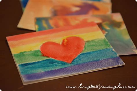 how to make a thank you card diy watercolor thank you cards living well spending less 174
