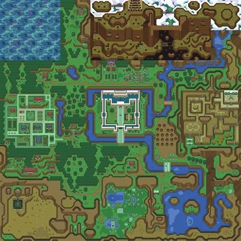A Link To The Past Maps