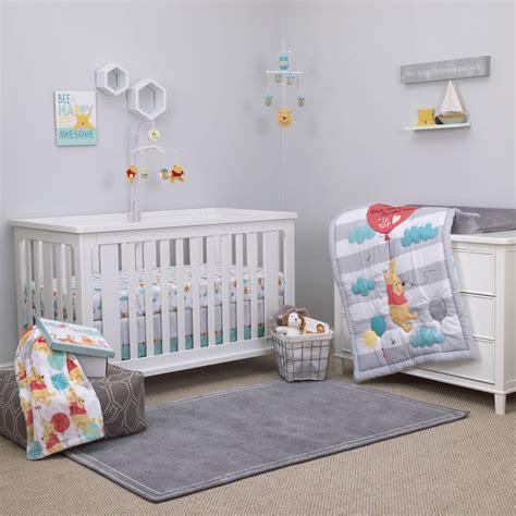 winnie the pooh crib bedding for boys winnie the pooh best friend 4pc crib set disney baby