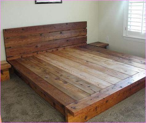 king bed platform frame king platform bed frames selections homesfeed
