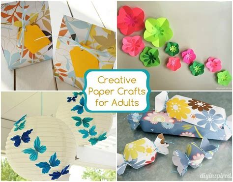 paper craft projects for adults 27 creative paper crafts for adults diy inspired