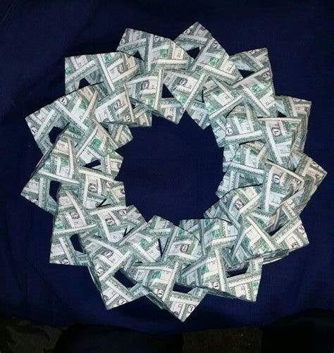money origami wreath 1000 images about money origami on
