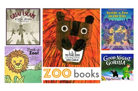 zoo picture book books about the zoo