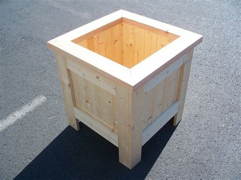 wood planter boxes woodworking plans 33 best images about wood planter tree box on