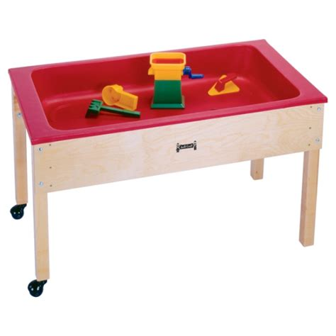 water sensory table 50 jonti craft sensory table w lid 0285jc