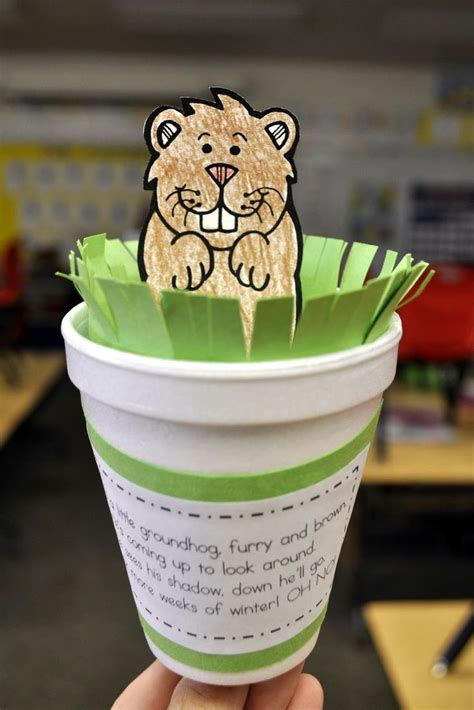 groundhog day crafts 5 groundhog day activities for roommomspot