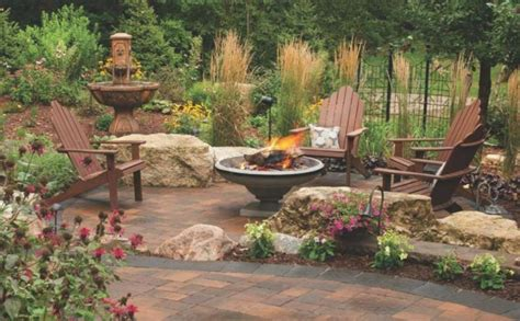 paver patio with pit 21 stunning picture collection for paving ideas