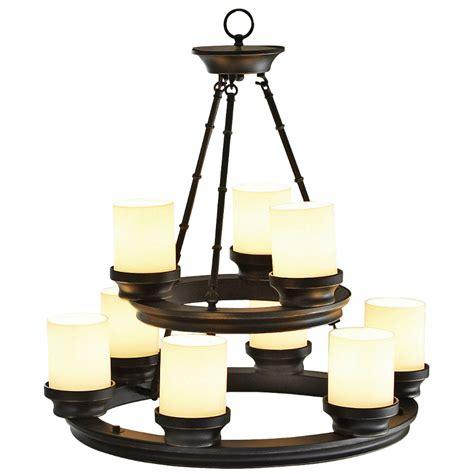 rubbed bronze dining room light fixture shop portfolio 9 light rubbed bronze chandelier at lowes
