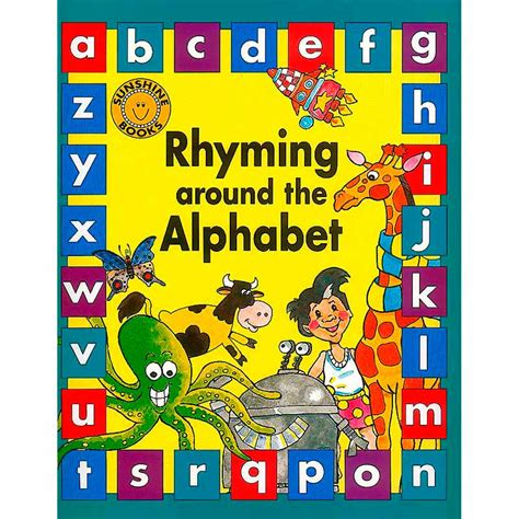 alphabet picture books rhyming around the alphabet big book books store