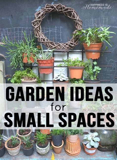 garden ideas small spaces 20 garden ideas for small spaces happiness is