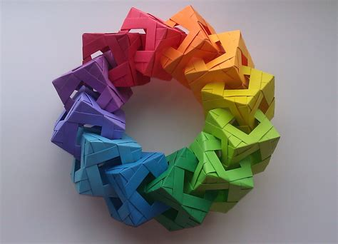 how to make a cool origami origami cube ring tutorial