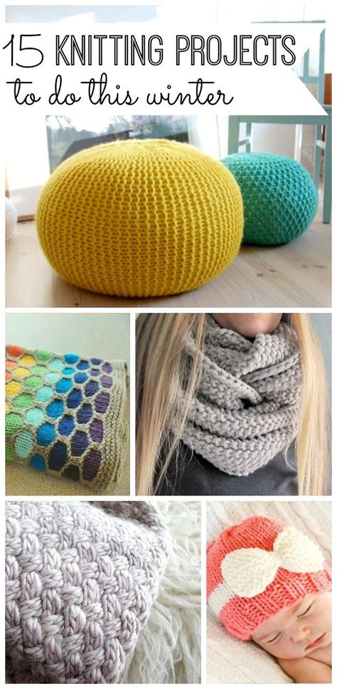 knitting gift ideas 25 unique easy knitting projects ideas on