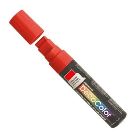 home depot paint markers marvy uchida decocolor wide point acrylic paint