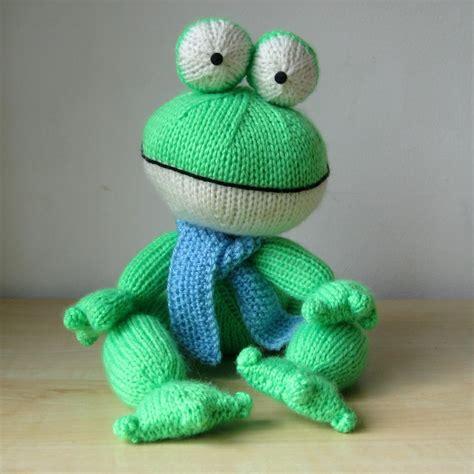 frog knitting pattern free felix the frog knitting patterns on luulla