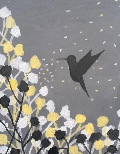 paint nite umami burger 17 best ideas about hummingbird painting on