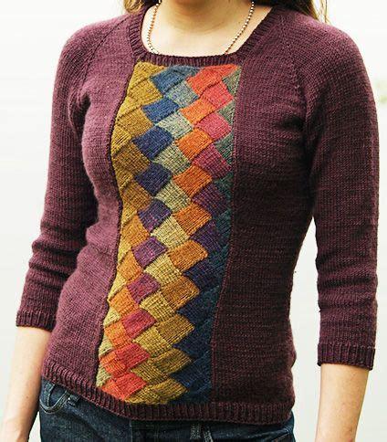 entrelac knitting patterns sweater entrelac knitting patterns in the loop knitting