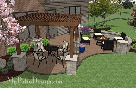 patio plans and designs 17 best ideas about backyard patio designs on
