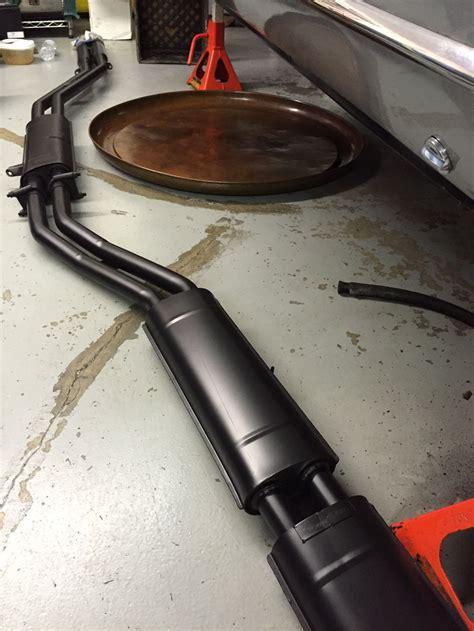 spray painting exhaust july 2015 tom yang s restoration