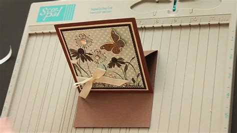 how to make an easel card easel card