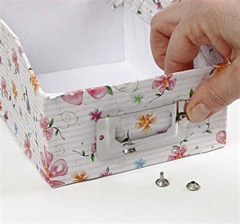 decoupage on cardboard decoupage on cardboard archive boxes