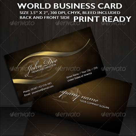how to make business cards in photoshop world business card graphicriver