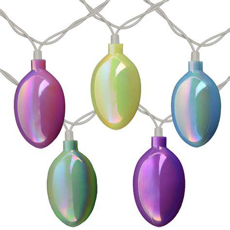 pastel easter lights easter egg string lights pearlized pattern