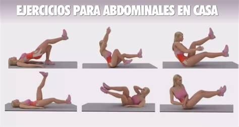 videos abdominales en casa para hacer en casa hacer en casa rutina de ejercicios