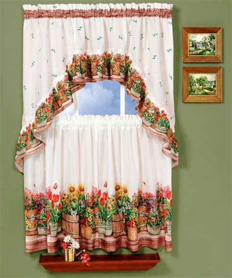 kitchen country curtains country kitchen curtains with various styles