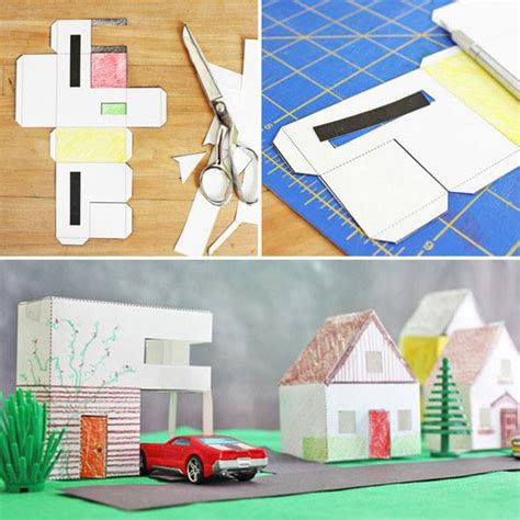 paper houses craft design for paper houses babble dabble do