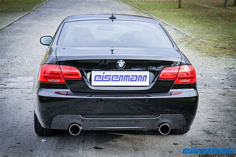 Bmw Performance Exhaust 335i by Eisenmann Axle Back Exhaust For 07012 Bmw 335i Xi