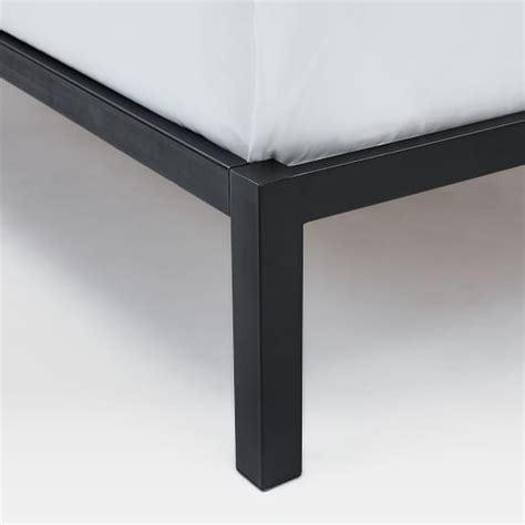 Box Frame Bed Frame Box Frame Bed Frame Charcoal West Elm