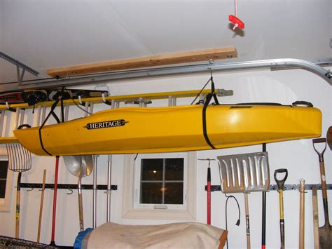 Garage Storage Kayak Beginning Kayaking Start Kayaking Kayak For