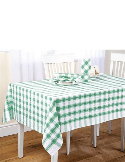 tablecloths and napkins uk seersucker tablecloths and napkins home kitchen dining