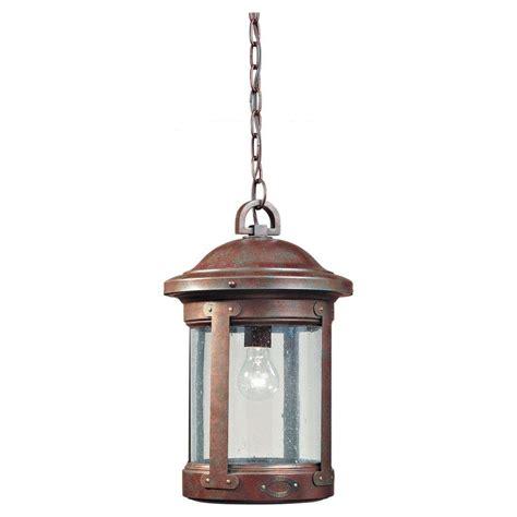 home depot pendant light fixtures sea gull lighting herrington 1 light black outdoor hanging