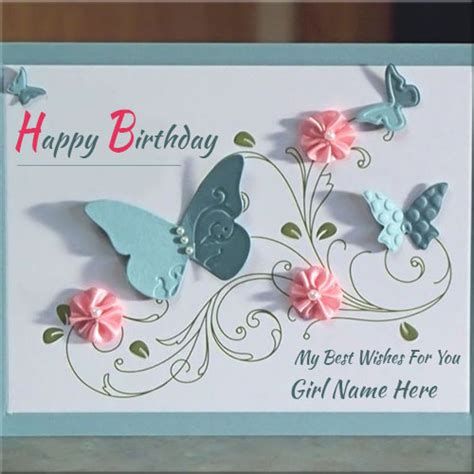 make a birthday card with name handmade birthday wishes card with name creator