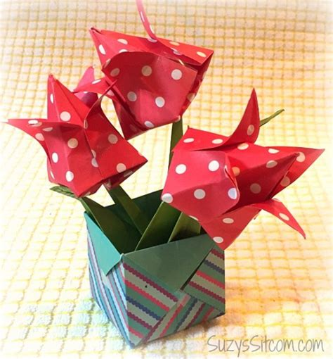 origami box flower celebrate origami day with beautiful paper