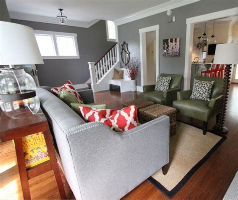 decorating with gray grey walls living room just decorate