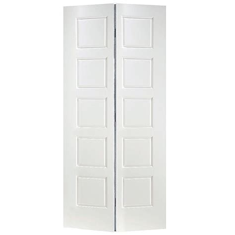 bifold closet doors home depot masonite 36 in x 80 in x 1 3 8 in riverside white 5